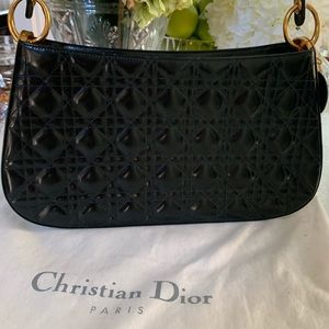 VINTAGE DIOR CANNAGE QUILTED BAG